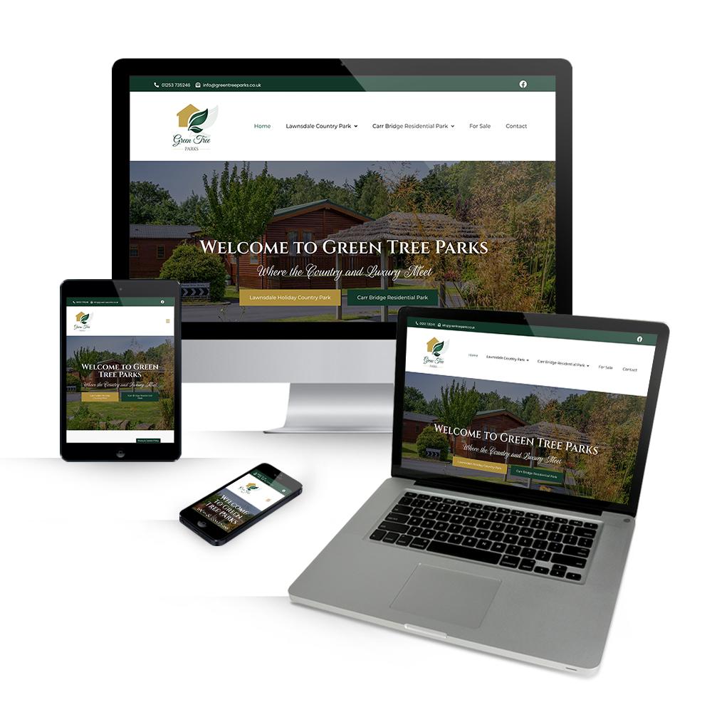 Green Tree Parks Responsive Web Design